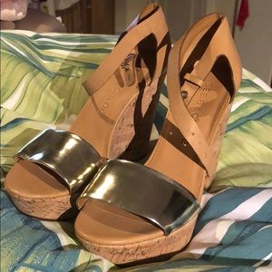 BRAND NEW See by Chloe wedges!